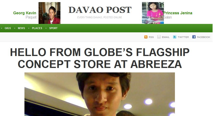 The launching of DavaoPost.com and what it means to me