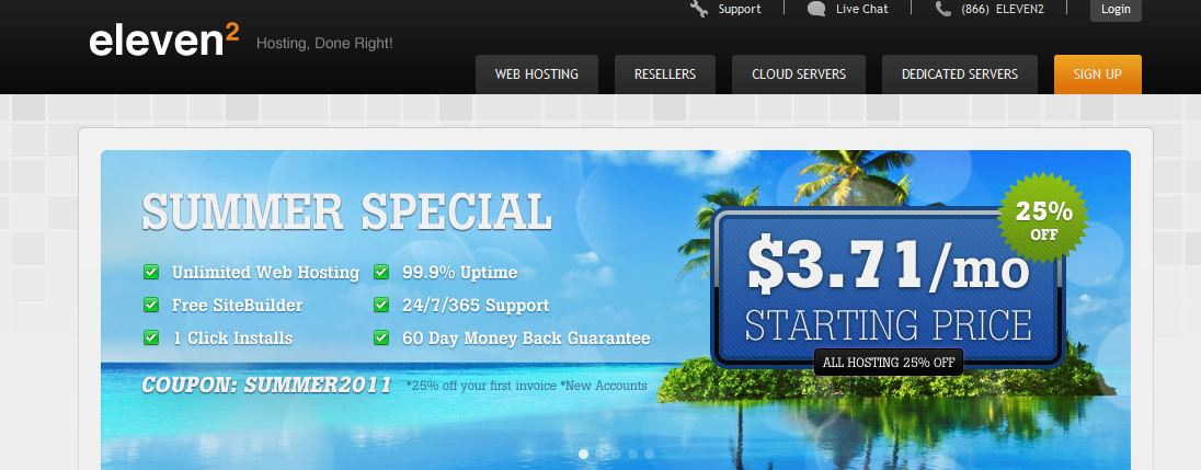 SharkSpace merges with Eleven2 Web Hosting