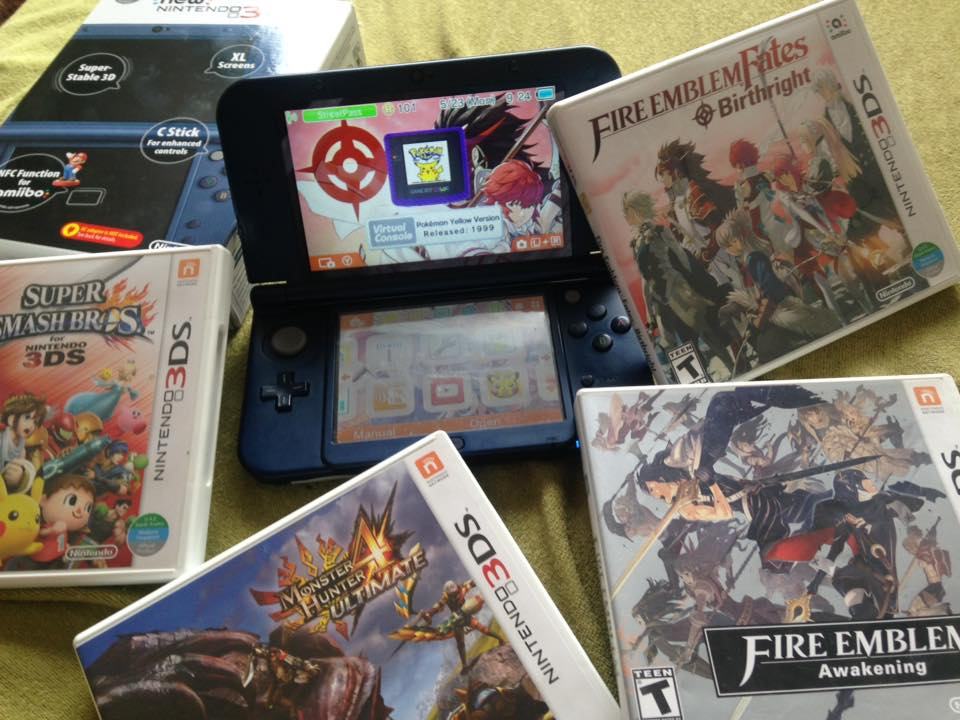 Hello New 3DS XL and Hello again Littleroot!
